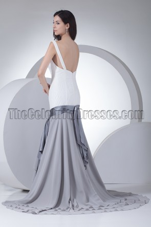 Trumpet \Mermaid Formal Prom Dresses Evening Gowns