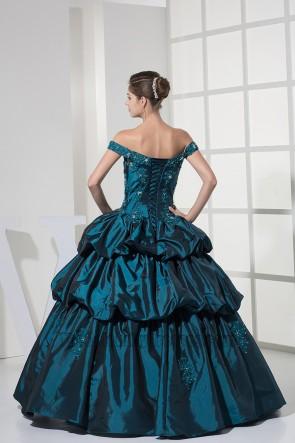Schulterfreies Ballkleid Quinceanera Abendkleid