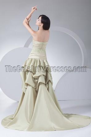 Sexy trägerloses High Low formelles Festzugskleid Ballkleid