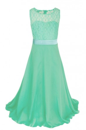 A-line Chiffon Junior Bridesmaid Dress