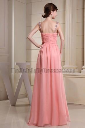 Wunderschönes rosa Ballkleid