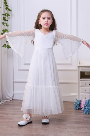 A-line Junior Bridesmaid Dress