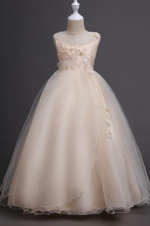 A-line Sleeveless Junior Bridesmaid Dress