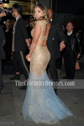 Abigail Clarke Zwei Stück Abendkleid Asian Awards 2017 Kleid