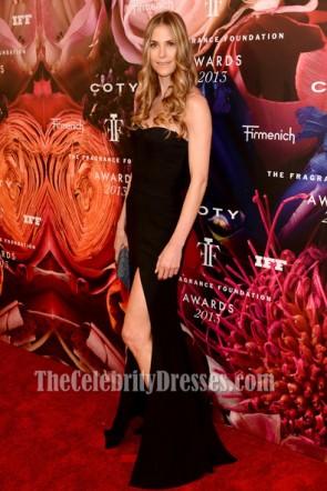 Annelise Peterson Schwarzes Abschlussballkleid 2013 Fragrance Foundation Awards
