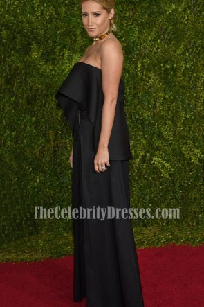 Ashley Tisdale Schwarz Anzug Zwei Stück Outfit Tony Awards 2015