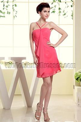 Discount Chiffon Short Mini Party Dress Cocktail Dresses