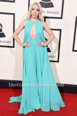 Ashley Monroe Abendkleid 58. Jährliche Grammy Music Awards Roter Teppich