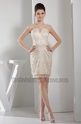 Chic Short Mini Graduation Party Cocktail Homecoming Dresses