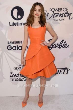 Emmy Rossum A-Line Party Cocktailkleid Variety die Macht der Frauen New York TCD6247