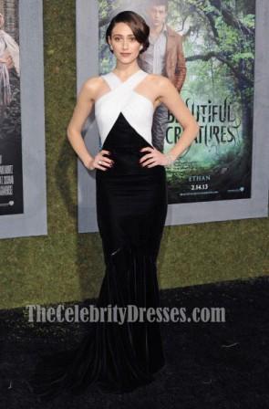 Emmy Rossum Prom Abendkleid 'Schöne Kreaturen' LA Premiere