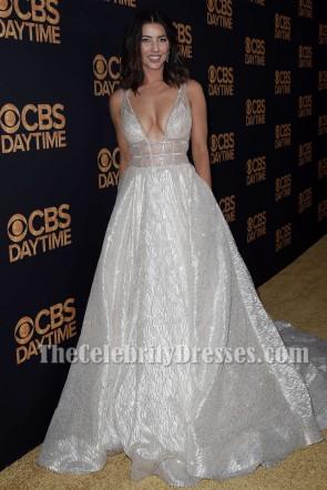 Jacqueline MacInnes Wood Sparkly Abendkleid 2016 Daytime Emmy Awards