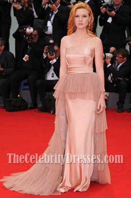 Madisen Beaty A-Line Formal Dress 2012 Venice Film Festival Red Carpet