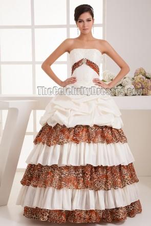 New Design Strapless Ball Gown Floor Length Wedding Dress