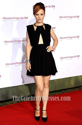 Rachel McAdams Little Black Dress About Time Munich premiere