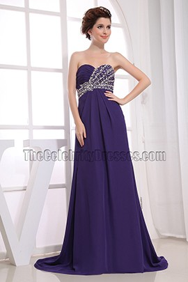 Regency Strapless Beaded Prom Evening Bridesmaid Dresses