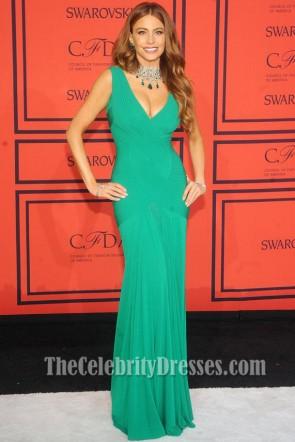 Sofia Vergara Green Prom Dress 2013 CFDA Fashion Awards