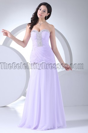 Strapless Sweetheart Beaded Prom Gown Evening Dresses