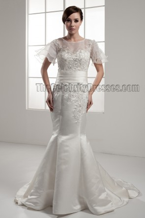 Trumpet/Mermaid Chapel Train Wedding Dresses