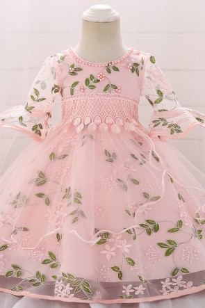 Ball-Gown Flower Girl Dress