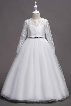 Ball-Gown  Junior Bridesmaid Dress