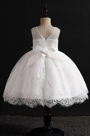 Ball-Gown Lace Girl Dress