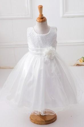 Ball-Gown Sequins Flower Girl Dress