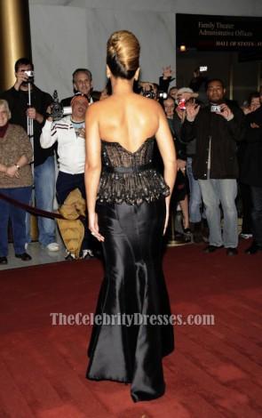 Beyonce Knowles Schwarze Meerjungfrau Abendkleid 31st Kennedy Center Ehrungen TCD6029