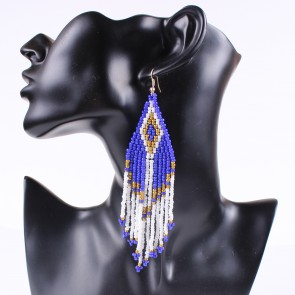 Bohemia Trend Measle Tassels Drop Earrings Women's Accessories TCDE0075