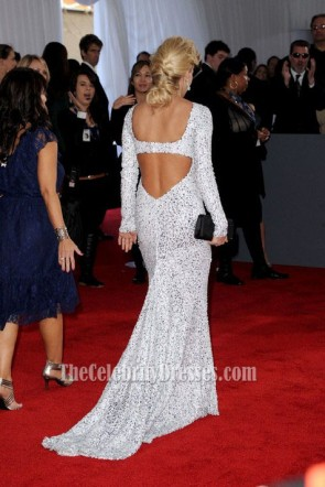 Carrie Underwood Abendkleid Grammy Awards 2012 Roter Teppich