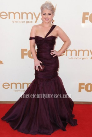 Celebrity Dresses Kelly Osbourne Formal Gown 63rd Primetime Emmy Awards Red Carpet