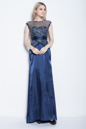Celebrity Inspired Sleeveless Floor Length Formal Dress Evening Gowns
