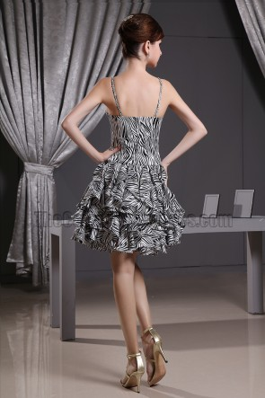 A-Line V-neck Cocktail Dress Party Homecoming Dresses