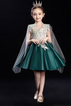 Color-block Flower Girl Dress