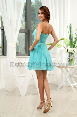 Cute Chiffon A-Line Party Dress Cocktail Homecoming Dresses
