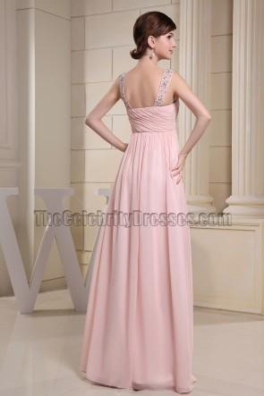 Schatz rosa Perlen Ballkleid