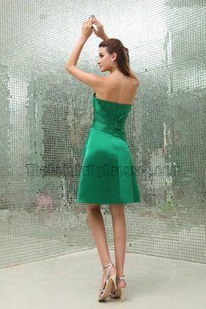 Discount Green A-Line Bridesmaid Graduation Dresses