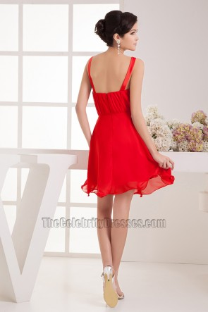 Discount Red Keyhole Beaded Cocktail Party Homecoming Dresses