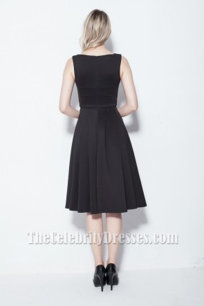 Elegant Sleeveless Knee Length Cocktail Party Dress TCDB0115