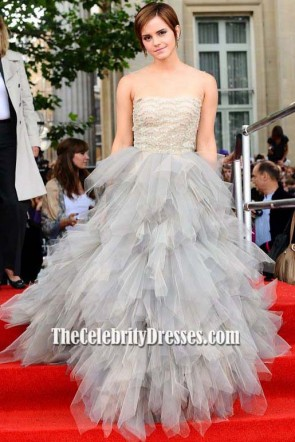 Emma Watson Tulle Prom Dress Harry Potter And The Deathly Hallows Part 2 London Premiere