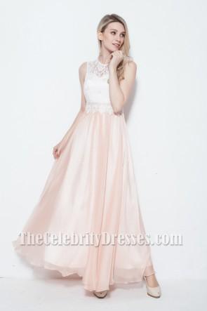 Gorgeous Floor Length Sleeveless Prom Gown Evening Dress