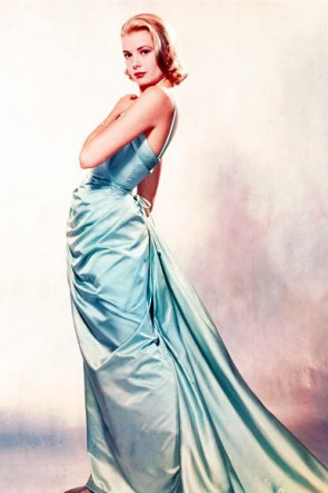Grace Kelly klassischen Oscar formalen Kleid Abendkleid