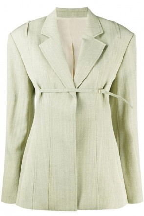 Hailey Baldwin Modeanzug Jacke Streetwear