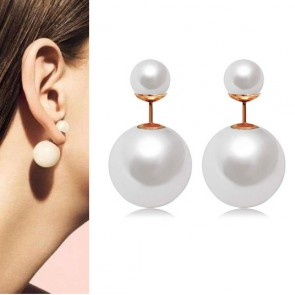Hot Sale Pearl Stud Earrings for Women TCDE0065