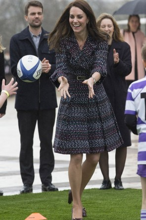 Kate Middleton Fashion Dress With Sleeves 2019