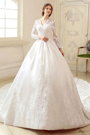 Kate Middleton Luxury Royal Wedding Gown Dress