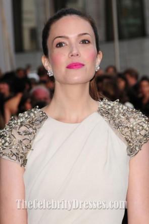 Mandy Moore Elfenbein Promkleid 2012 CFDA Weise Auszeichnungen Roter Teppich