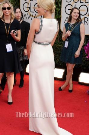 Margot Robbie Wulstiges Formales Kleid 2014 Golden Globes Roter Teppich