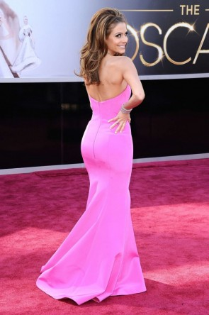 Maria Menounos Prom Formale Kleid Oscars 2013 Roter Teppich