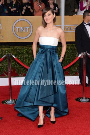 Marion Cotillard Formal Dress SAG Awards 2013 Red Carpet